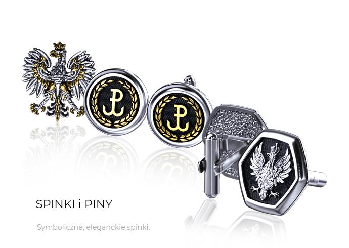 biżuteria męska - spinki do mankietów - Sklep ENIGMA