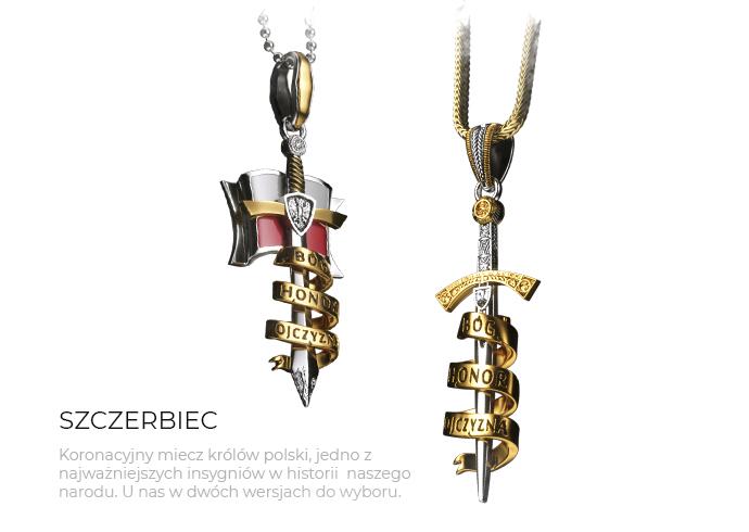 biżuteria patriotyczna - zawieszki Sklep ENIGMA